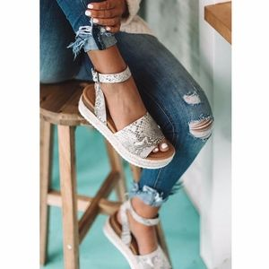 Shoes - HELLO SPRING Comfy Wedges  - SNAKE PRINT